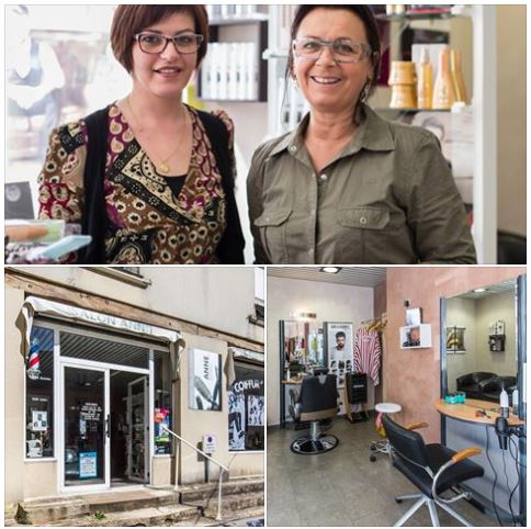 Anne Coiffur', coiffure mixte + barbier.