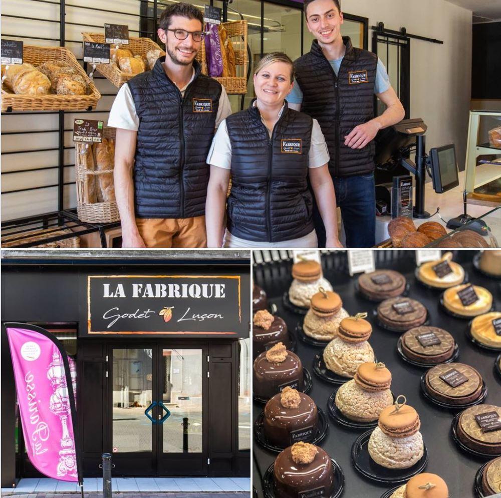 [Rencontre]La Fabrique Godet – Luçon, boulangerie-pâtisserie???